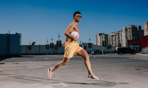 Men's training shorts