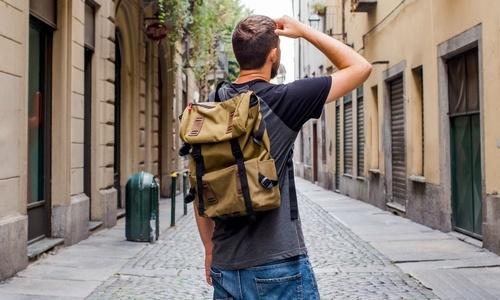 Men's lifestyle backpacks