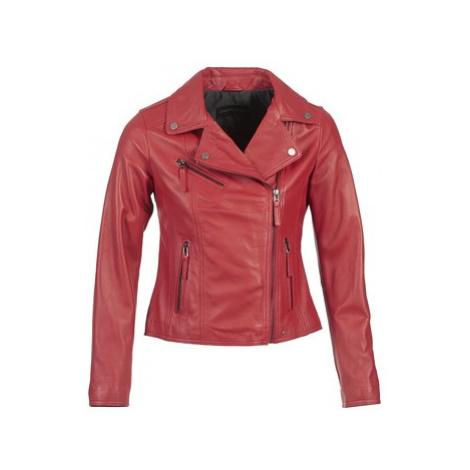 Oakwood 62086 women's Leather jacket in Red