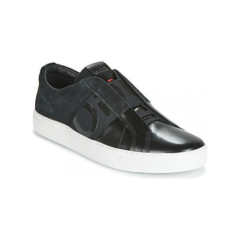 HUGO FUTURISM SLON BOSD men's Shoes (Trainers) in Black Hugo Boss