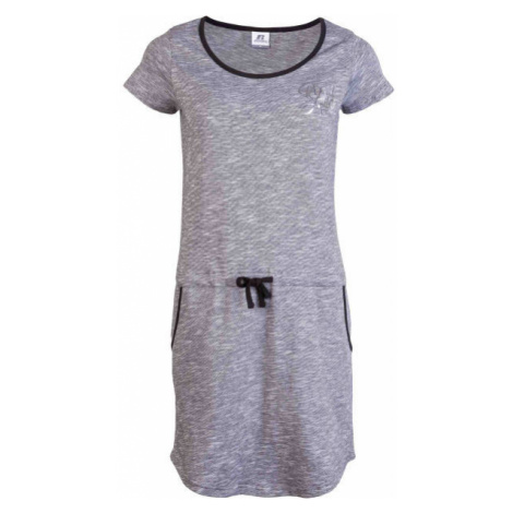 Russell Athletic ŠATY DÁMSKÉ PROUŽEK grey - Women's dress