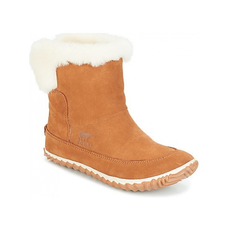 Sorel OUT N ABOUT BOOTIE women's Snow boots in Brown