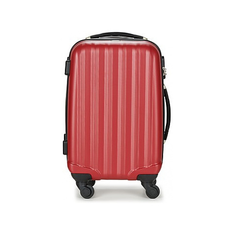 David Jones CHAUVETTA 36L men's Hard Suitcase in Red