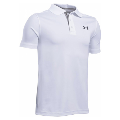 Under Armour Performance Kids Polo Shirt White