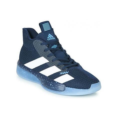 Blue men's indoor shoes