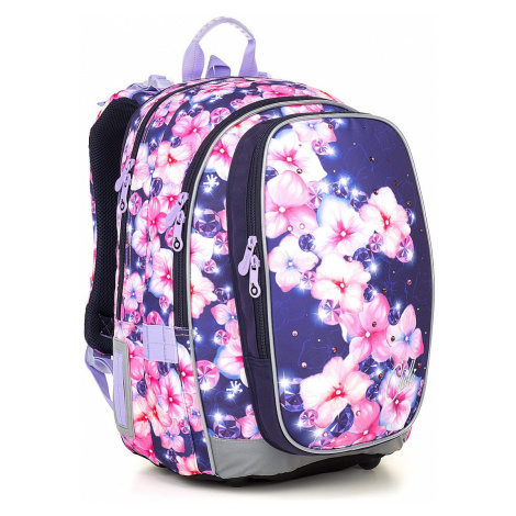 backpack Topgal MIRA 18019 - G/Pink