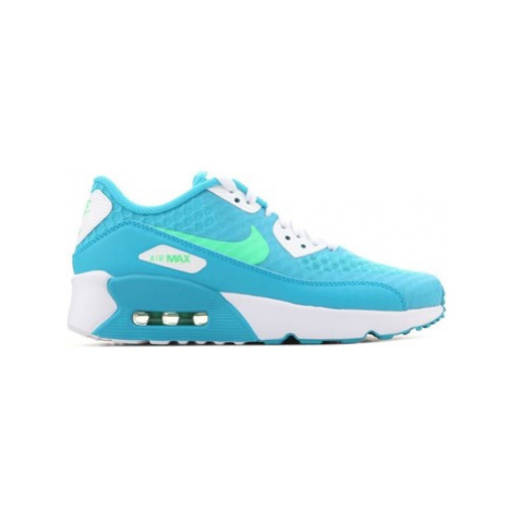 Blue girls' sports trainers