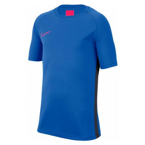 Nike DRY ACDMY TOP SS B blue - Boys' football T-shirt