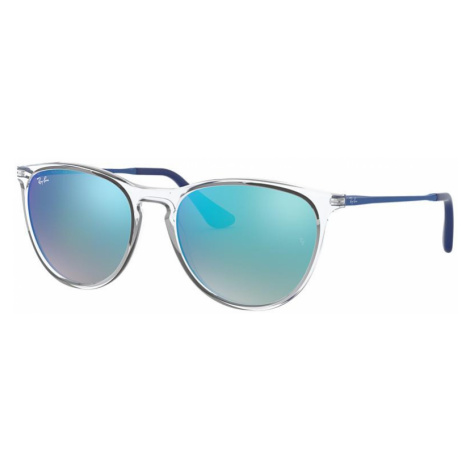 Ray Ban Woman RJ9060S IZZY - Frame color: Transparent, Lens color: Blue Gradient Flash, Size 50-