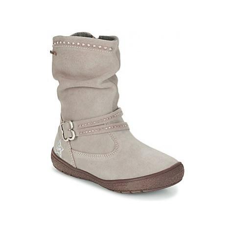 Primigi CALISHA-E girls's Children's High Boots in Grey