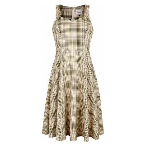Banned Retro Picnic Dress Medium-length dress yellow