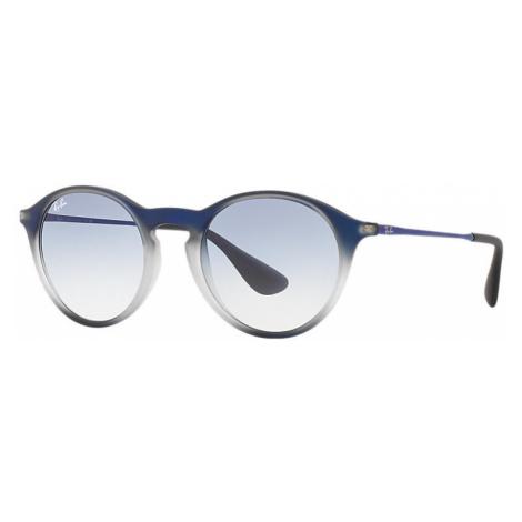 Ray-Ban Rb4243 Unisex Sunglasses Lenses: Blue, Frame: Blue - RB4243 622519 49-20