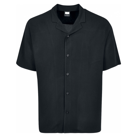 Urban Classics - Viscose Resort Shirt - Workershirt - black