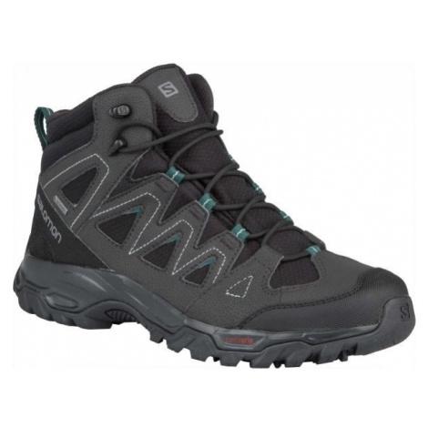 Salomon LYNGEN MID GTX black - Men's hiking shoes