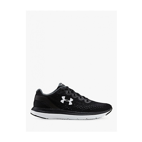 Under Armour Charged Impulse Men's Running Shoes, Black/White