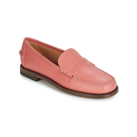Sebago CLASSIC DAN WAXY W women's Loafers / Casual Shoes in Orange