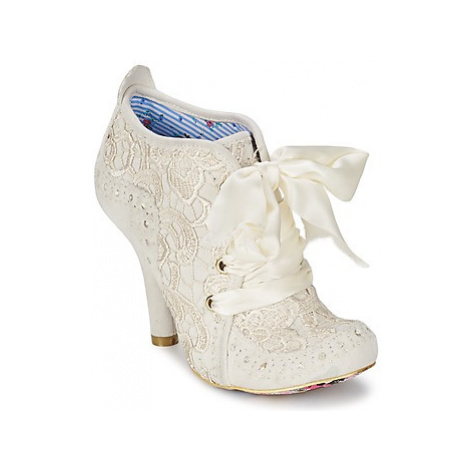 Irregular Choice ABIGAILS THIRD PARTY women's Low Ankle Boots in White