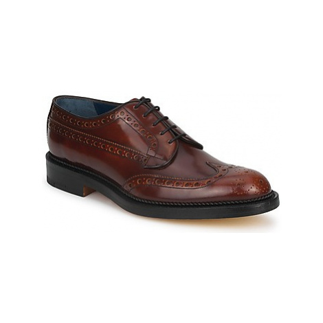 Barker ANDERSON men's Casual Shoes in Brown
