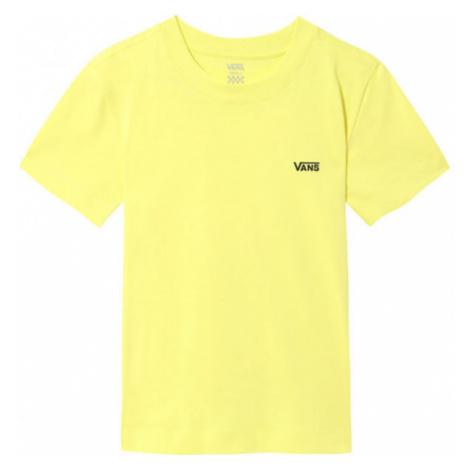 Vans WM JUNIOR V BOXY yellow - Women's T-shirt