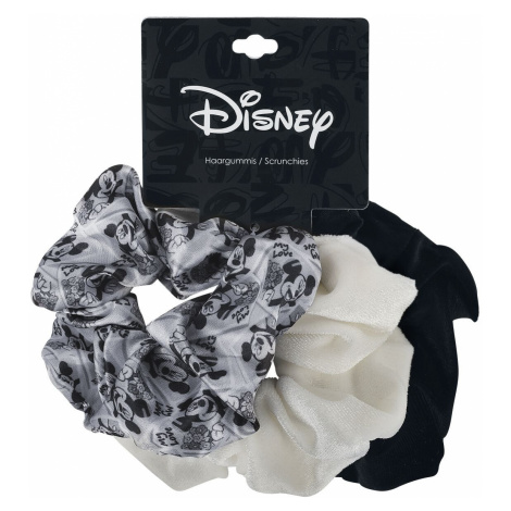 Mickey Mouse Retro Hair tie black white
