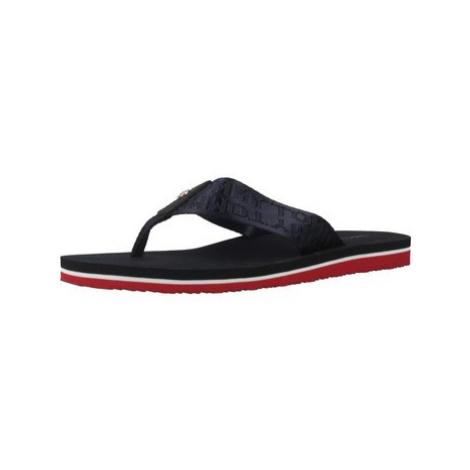 Tommy Hilfiger FW0FW03877 women's Flip flops / Sandals (Shoes) in Blue