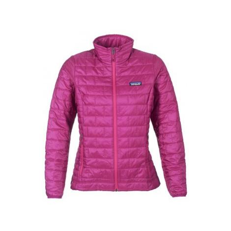 Pink women's sports winter jackets