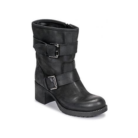 Sweet Lemon ELAINE women's Low Ankle Boots in Black