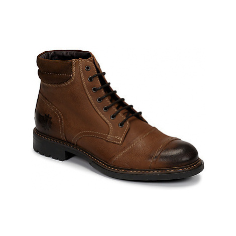 Base London REPTON men's Mid Boots in Brown