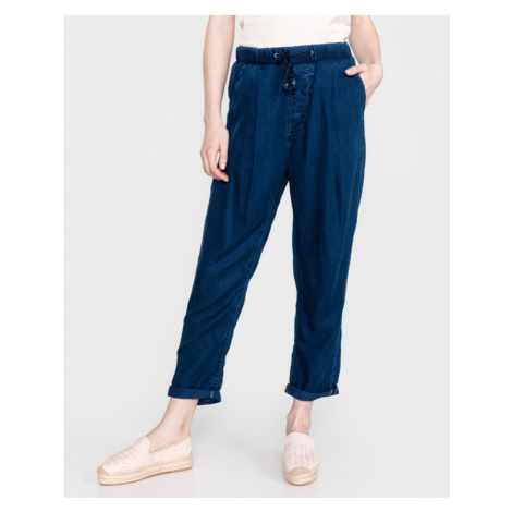 Pepe Jeans Donna Trousers Blue