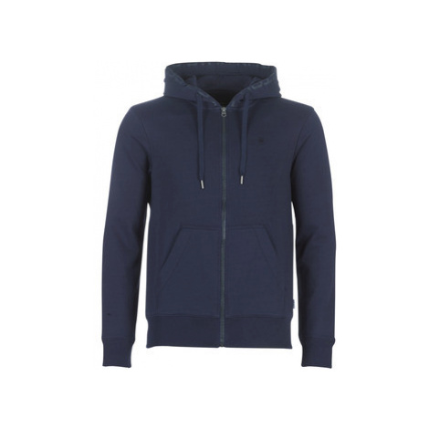 G-Star Raw GRAPHIC 8 CORE ZIP men's Sweatshirt in Blue