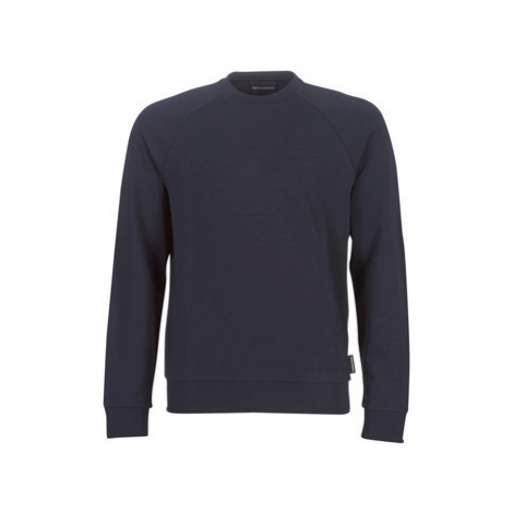 Emporio Armani 6G1MF5-1J04Z-0924 men's Sweatshirt in Blue