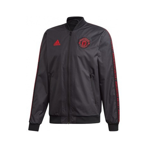 Manchester United Anthem Jacket - Black Adidas