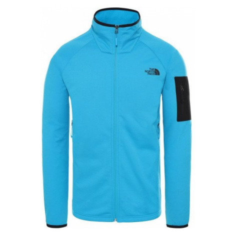 The North Face BOROD FULL ZIP ACOUSTICBL blue - Men's jacket