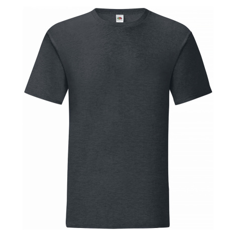 Fruit Of The Loom - Iconic T - T-Shirt - charcoal