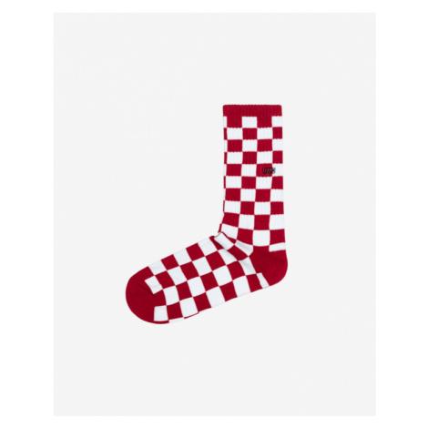 Vans Socks Red White