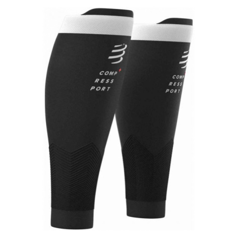 Compressport R2V2 black - Compression calf sleeves