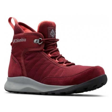 Columbia NIKISKI 503 red - Women's winter shoes