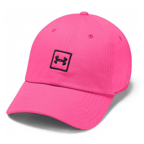 Under Armour WASHED COTTON CAP pink - Baseball cap