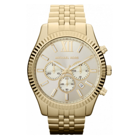 Mens Michael Kors Lexington Chronograph Watch MK8281