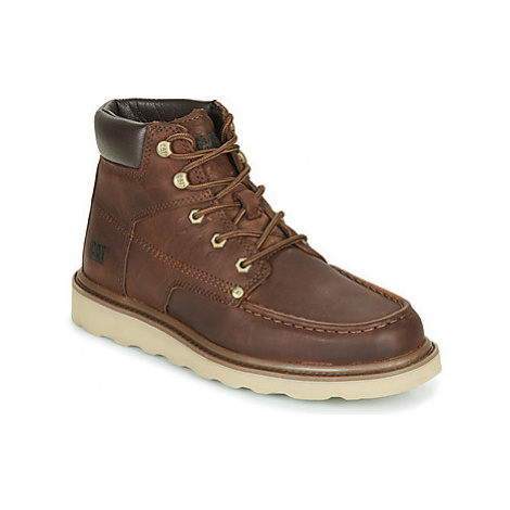 Caterpillar BYRON men's Mid Boots in Brown