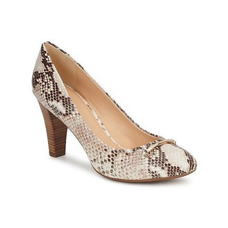 Geox MARIECLAIRE POMA women's Court Shoes in Beige