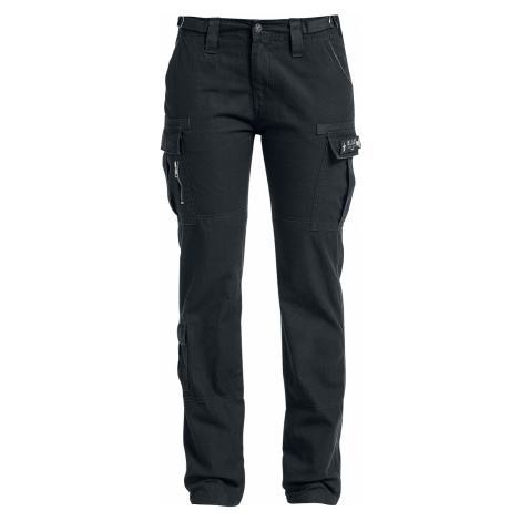 Black Premium by EMP - Army Vintage Trousers - Girls trousers - black