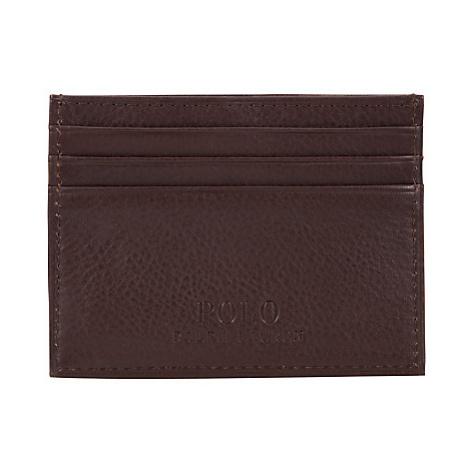 Polo Ralph Lauren Pebble Leather Card Holder