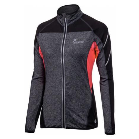 Klimatex NOEMI dark gray - Women's running sweatshirt