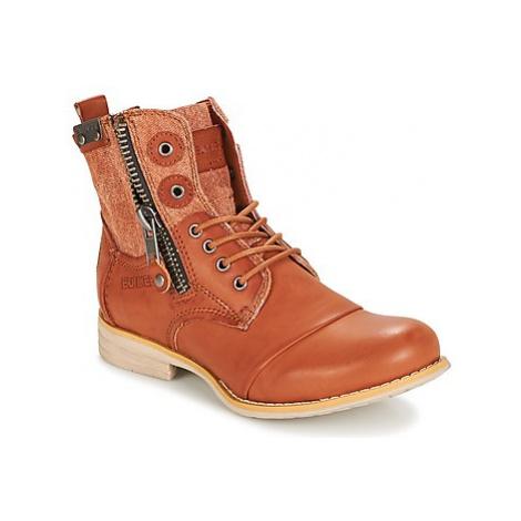 Bunker SARA women's Mid Boots in Brown