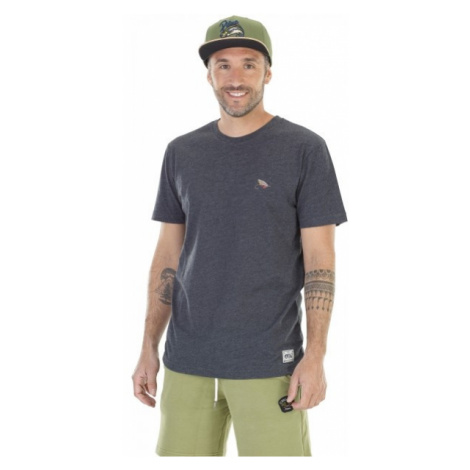 Picture RANDALL black - Men's T-shirt with a print