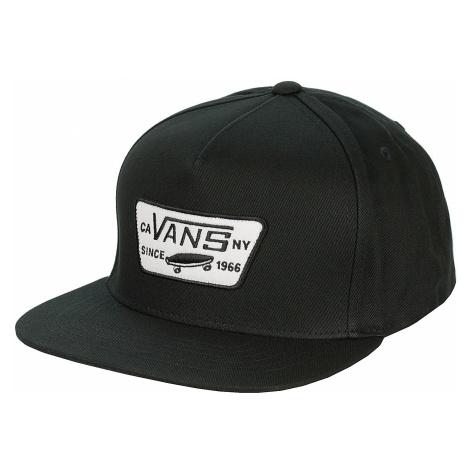 cap Vans Full Patch Snapback - True Black