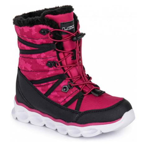 Loap TAHORI pink - Kids' winter shoes