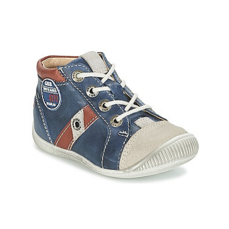 GBB SILVIO boys's Children's Shoes (High-top Trainers) in Blue