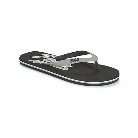 Polo Ralph Lauren WHITTLEBURY II men's Flip flops / Sandals (Shoes) in Black
